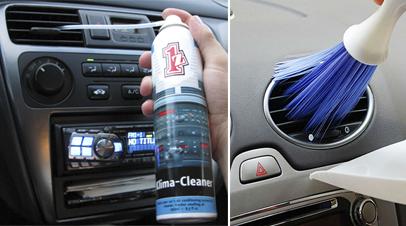 Limpieza circuito aire acondicionado coche